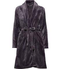 decoy short robe w/stripes morgonrock lila decoy