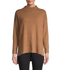 long-sleeve wool-blend sweater