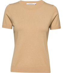 josefa knit t-shirts & tops knitted t-shirts/tops beige andiata