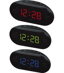 reloj digital/despertador/ diseño moderno led escritorio-