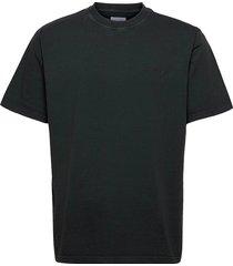 boxy state tee t-shirts short-sleeved svart woodbird