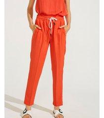 pantalón naranja portsaid slim parker