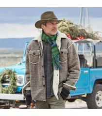 sundance catalog men's falcon retreat jacket in khaki 2xl