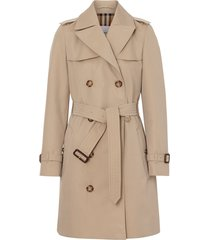 burberry the short islington trench coat - brown