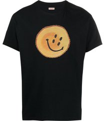 kapital trunk rain smile cotton t-shirt - black