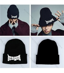 christmas gift kpop bigbang beanie knit hat made full gd g-dragon ski cap