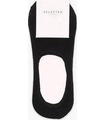selected homme slhwade 3-pack sneaker sock b strumpor svart