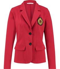 studio anneloes bright bonded badge blazer 03899