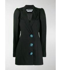rotate carol crystal-embellished blazer dress