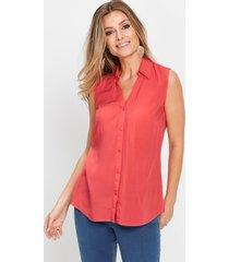 blouse van viscose