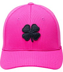 black clover flex waffle 3 baseball cap, size small in pink at nordstrom