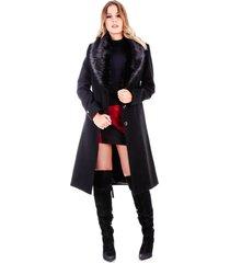 casaco rigotto new york longo preto