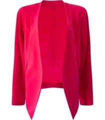 bcbgeneration tuxedo-knit open-front blazer