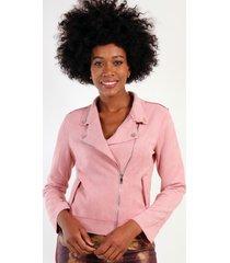 chaqueta gamuza eloiso rosa night concept