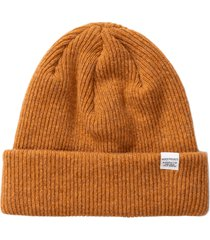 norse projects norse beanie |yellow| n95-0569 3039
