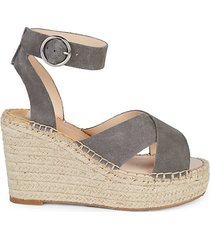 salla braided wedge sandals