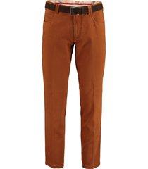 meyer chino broek dubai oranje 3102755390/46