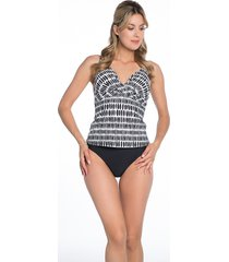bomain laies tankini irregular dot 28011-300
