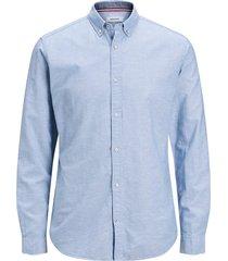 jack & jones overhemd 12163855 infinity licht blauw -