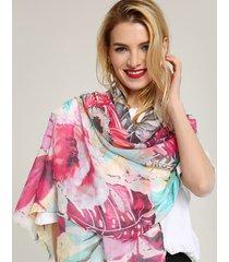 stile etnico delle donne che priting scialle sciarpa di cotone plus formato sciarpa da viaggio moda casual traspirante