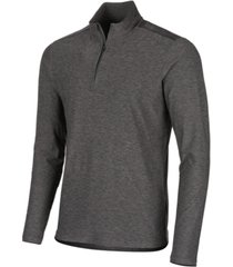 ideology men's core bonded quarter-zip pullover, created for macy's