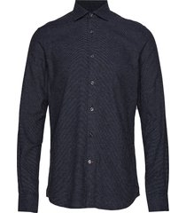 dolwen button down shirt skjorta casual blå morris