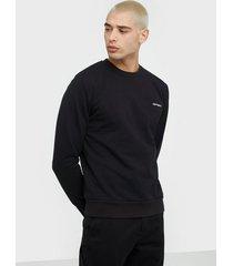 carhartt wip script embroidery sweat tröjor black/white
