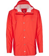 jacket regnkläder röd rains