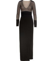 abito lungo (nero) - bodyflirt boutique