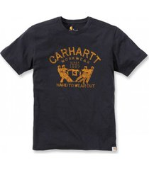 carhartt t-shirt men hard to wear out s/s black-xxl