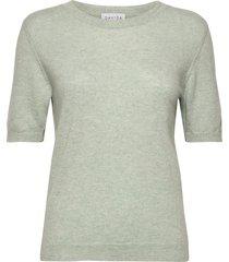 t-shirt over d t-shirts & tops knitted t-shirts/tops groen davida cashmere