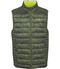 parka hombre ridgevent ins vest verde merrell