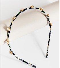 jaime pearl cluster headband - pearl