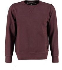 replay bordeaux rode sweater