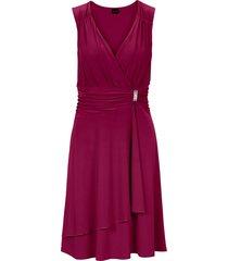 abito con applicazione gioiello (viola) - bodyflirt
