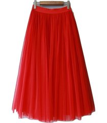 red long tulle skirt women red tulle long maxi skirt red wedding party skirts