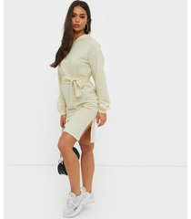 nly trend hoodie belt dress loose fit dresses