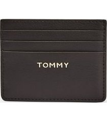 tommy hilfiger women's tommy credit card holder black -