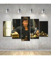 scarface 2 movie al pacino  5 piece canvas art wall art picture home decor