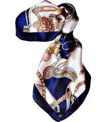 pañuelo bandana complementos azul marino viva felicia