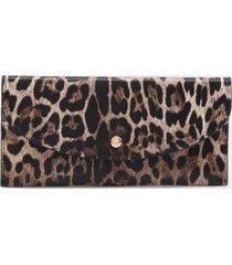 pixie snap wallet - leopard