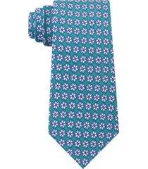 tommy hilfiger men's classic snowflake neat silk twill tie