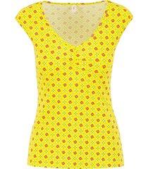 blutsgeschwister top sommerliebe geel