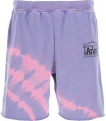 aries tie-dye shorts