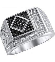 anillo bb plata casual arany joyas