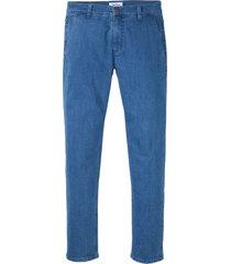 jeans elasticizzati chino in cotone biologico regular fit (blu) - john baner jeanswear