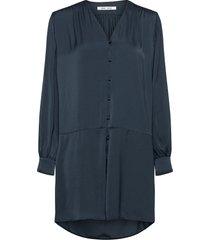 jetta short dress 12770 kort klänning blå samsøe samsøe