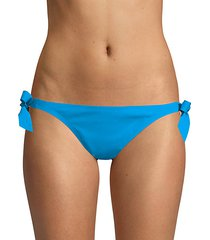 au natural side tie bikini bottoms