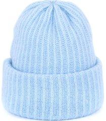 czapka hygge jasnoniebieska