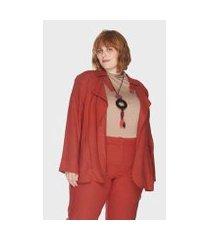 trench coat nilo caribe plus size passy feminino